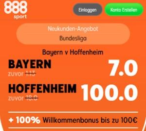 888sport Boost Bayern Hoffenheim
