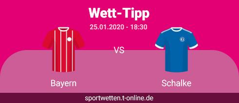 Bayern vs Schalke Tipp