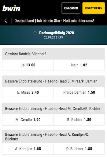 Dschungelcamp 2020 Quoten Head to Head