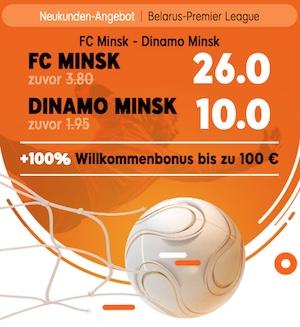 888Sport Boost Minsk Derby