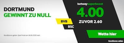 Betway Superboost Dortmund Sieg