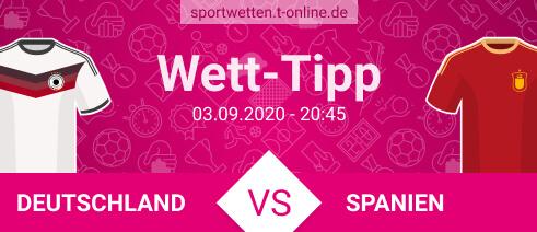 Deutschland Spanien Wett Tipp