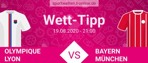 Lyon vs Bayern Wett Tipp