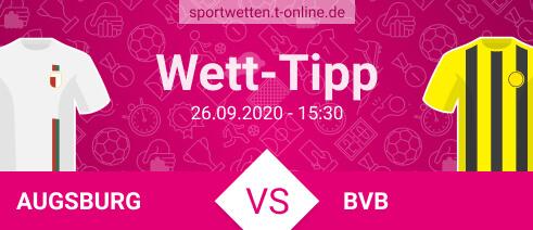Wett Tipp Augsburg vs BVB am 26.9.2020