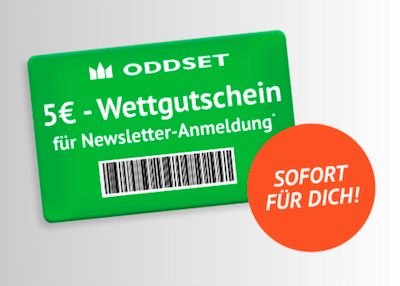 5 Euro Gutschein bei Oddset holen