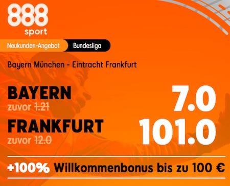 Bayern Frankfurt 888sport Boost