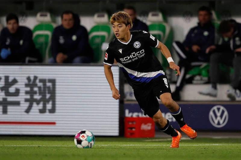 Ritsu Doan will mit Bielefeld gegen den BVB bestehen