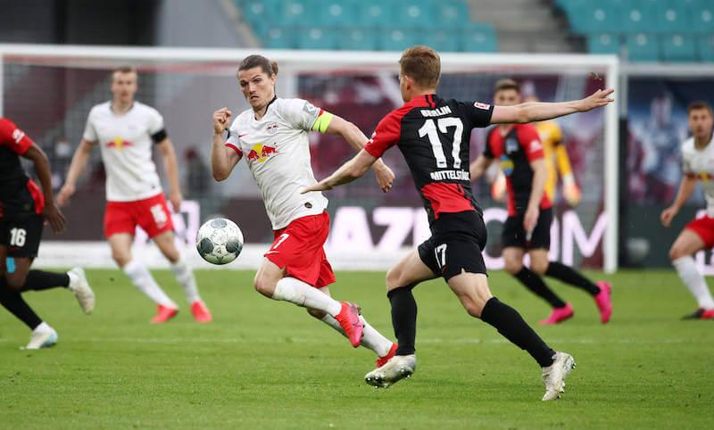 Marcel Sabitzer spielt am 24.10. mit Leipzig gegen Hertha