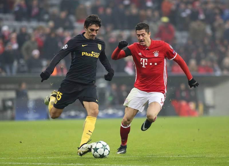 Lewandowski trifft mit Bayern am 21.10.2020 erneut auf Atletico Madrid
