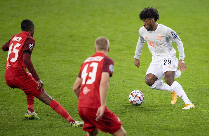 Coman im Duell mit Mwepu - Bayern trifft erneut auf RB Salzburg