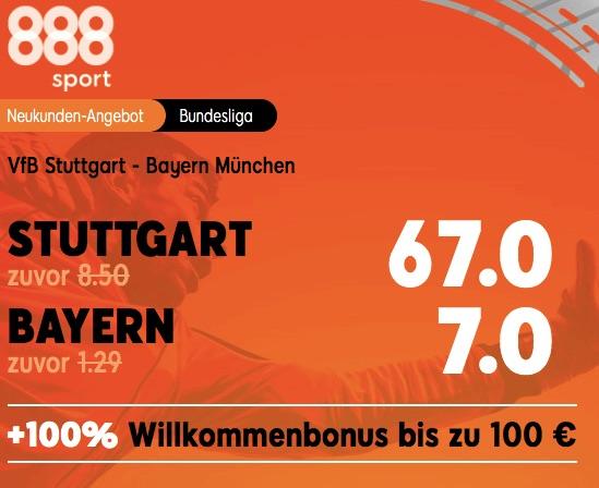 VfB Stuttgart vs Bayern München Boost