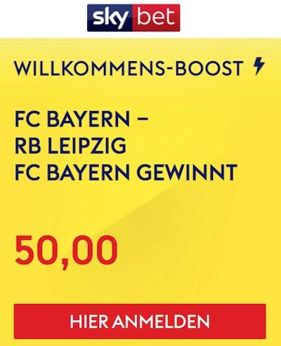 Sky Bet Boost Bayern Leipzig