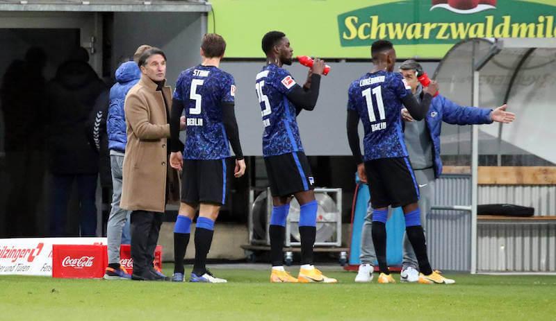 Bruno Labbadia und die Hertha brauchen gegen Köln ein Erfolgserlebnis