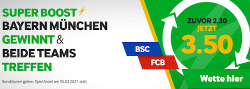 Hertha Bayern Betway Boost