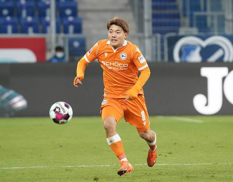 Bielefelds Ritso Doan will sich im Match gegen den BVB empfehlen