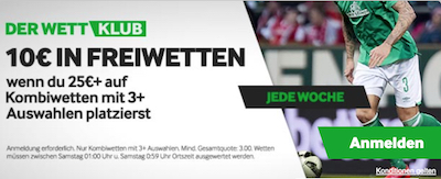 Betway Wettklub Promotions
