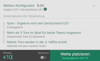bet365 u21 em deutschland wetten