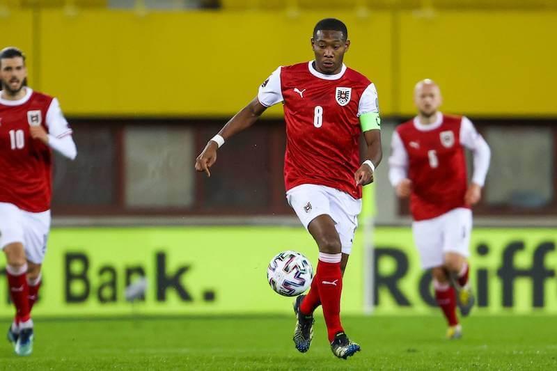 David Alaba will mit Österreich in WM Quali gegen Dänemark gewinnen