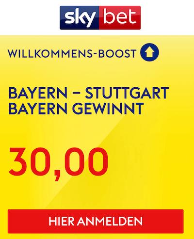 Skybet Boost Bayern VfB