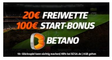 betano 20€Freebet