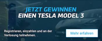 Mybet Tesla Gewinnspiel