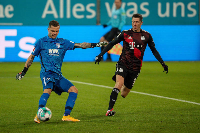 Robert Lewandowski jagt im letzten Spiel der Saison gegen Augsburg den Torrekord