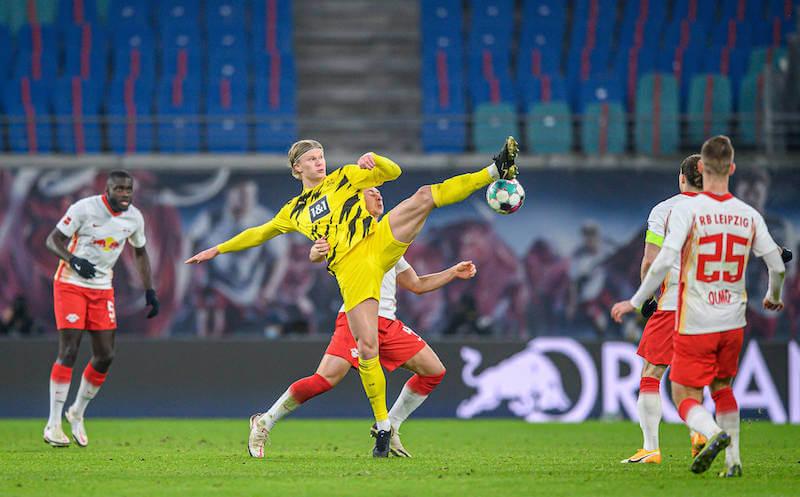 Der Einsatz von Haaland gegen RB Leipzig ist noch fraglich