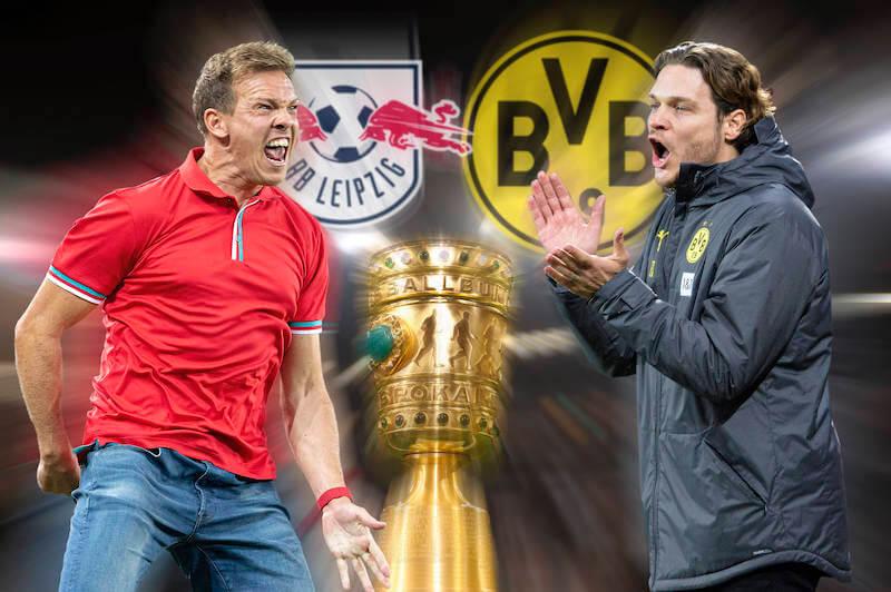 RB Leipzig trifft im DFB Pokalfinale 2020/2021 auf Borussia Dortmund