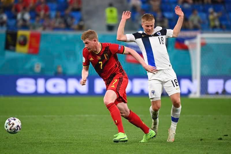 Belgiens de Bruyne trifft im Achtelfinale auf Portugal