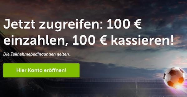 ComeOn Bonus 100€
