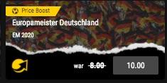 Bwin Boost Deutschland EM Sieg