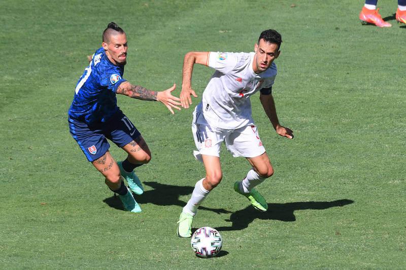 Spaniens Kapitän Busquets wird gegen Kroatien starten