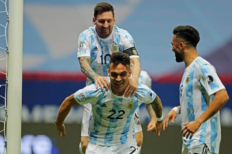 Lionel Messi & Co stehen im Copa America Finale gegen Brasilien