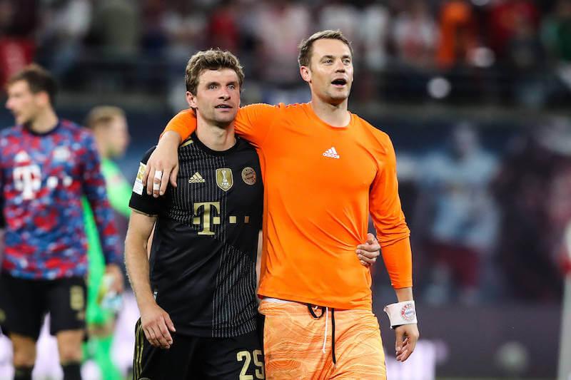 Die Bayern Routiniers Müller und Neuer wollen Barca die Stirn bieten