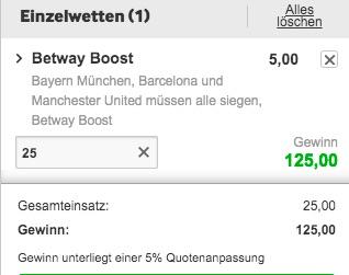 Bayern CL Boost vs Kiew